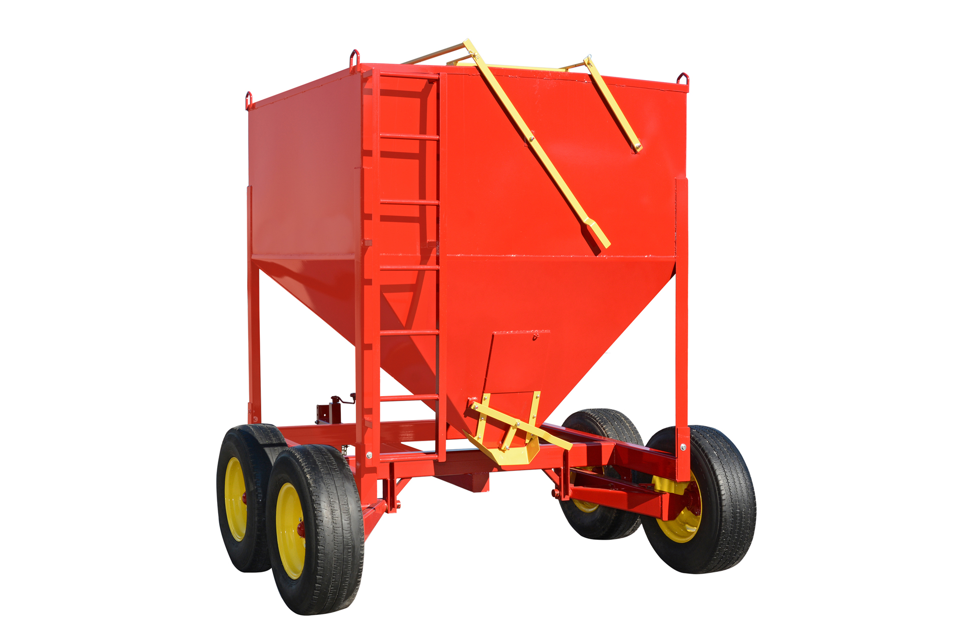 portable grain bin to prevent mycotoxins