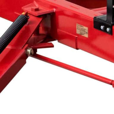 front round bale carrier assembly