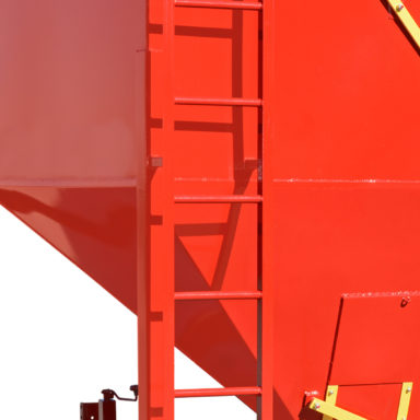 portable grain bin ladder 1
