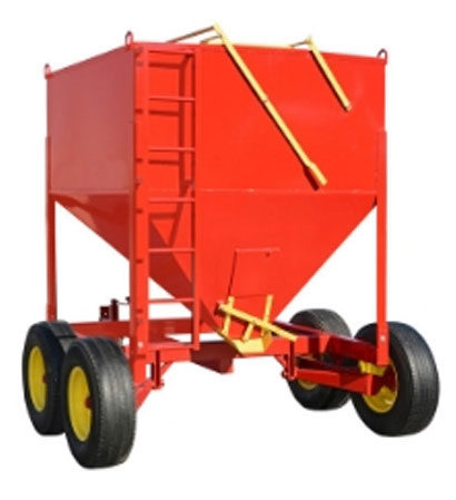 feed storage trailer