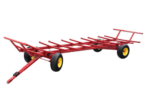 livestock equipment for hay bale transport