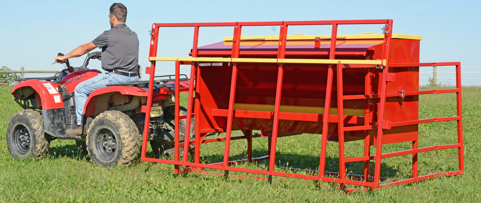 A cattle feeder for creep feeding