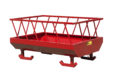 small hay feed wagon without wheels