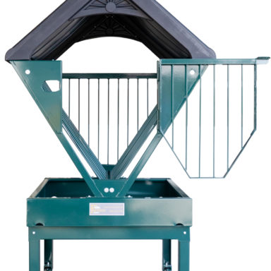 horse feeder for sale with roof 1