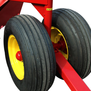 cattle headlock feeder tires