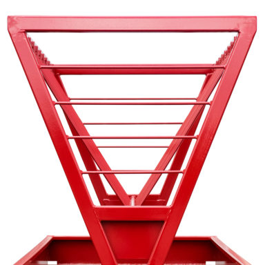Frame of the square bale feeder